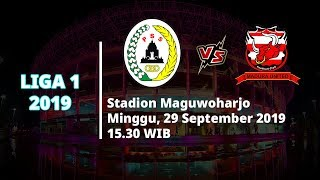 VIDEO: Live Streaming Liga 1 2019 PSS Sleman Vs Madura United Minggu (29/9) Pukul 15.30 WIB