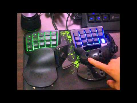 Comparison video between Razer Nostromo & Razer Tartarus