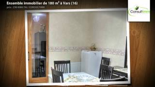 preview picture of video 'Ensemble immobilier de 180 m² à Vars (16)'