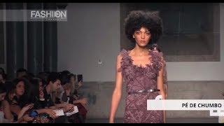 Gambar cover PÉ DE CHUMBO Spring Summer 2018 Portugal Fashion Week - Fashion Channel
