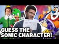 Sonic The Hedgehog Movie: Guess The Sonic Character With Jeff Fowler | Sonic The Hedgehog Interview