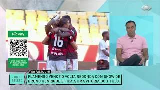 Denílson exaltou a superioridade do Flamengo frente ao Volta Redonda e disse que o Rubro-Negro é amplo favorito contra o Fluminense.  INSCREVA-SE NO CANAL E NÃO PERCA NENHUM DETALHE DO JOGO ABERTO.   Quer ver mais sobre o programa? Acesse o site do JOGO ABERTO: https://bit.ly/39GEp7Z   Siga o Jogo Aberto nas redes sociais:  Instagram: https://www.instagram.com/jogoaberto/  Twitter: https://twitter.com/jogoaberto  Facebook: https://www.facebook.com/jogoaberto