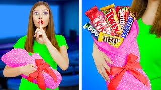 7 Funny Ways To Sneak Food Into The Movies 2! || Crazy DIY Tips And Tricks By RATATA!
