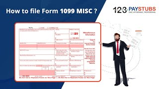 How to File Form 1099 MISC for 2020 Tax Year? | 123PayStubs