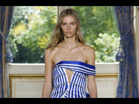 BALMAIN Spring Summer 2019 Menswear Paris - Fashion Channel