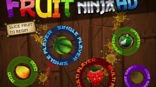 Fruit Ninja video