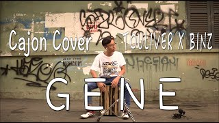 TOULIVER X BINZ - GENE Cajon Cover | Magic Cajon