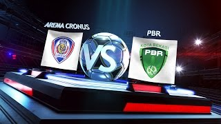 Grup A Arema Cronus Vs Persipasi Bandung Raya 42  Match Highlights