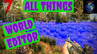 World Editor-7 days to die Alpha19- How to place a custom POI