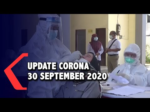 update corona september positif sembuh meninggal