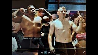 Miller - Adamek, weigh in, @MatchroomBoxing  @BorekMati #boxing