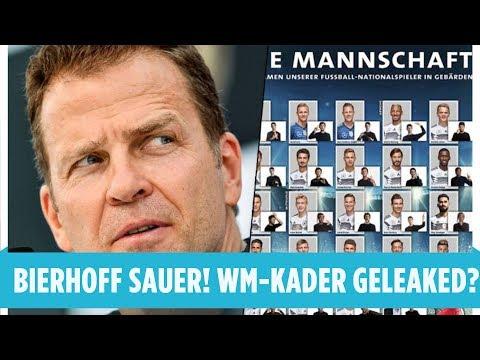 DFB-Poster mit Kader aufgetaucht: Fahren diese 4 Spieler nicht mit zur WM? | Bierhoff sauer!