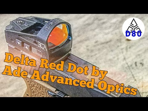ADE Advanced Optics Delta best budget Red Dot RD3-012 affordable red dot
