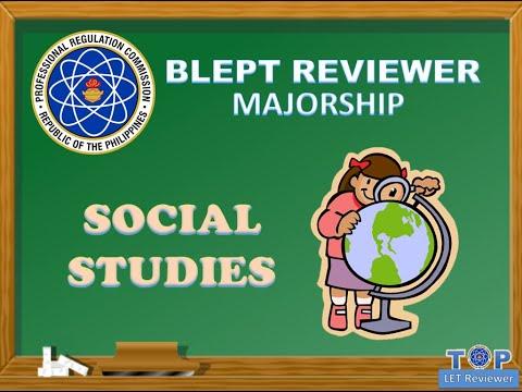 SOCIAL STUDIES LET REVIEWER