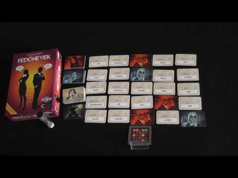 Fedőnevek bemutató videó