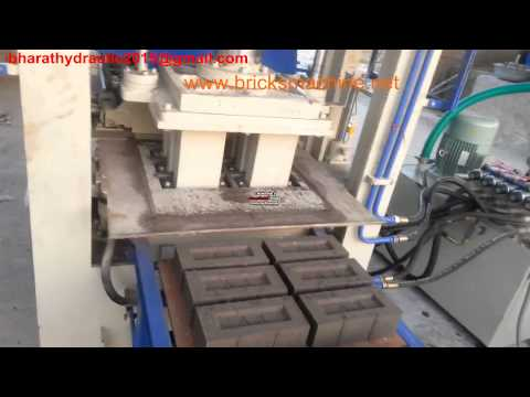 Mini Auto Fly Ash Brick Making Machine With Vibro. 6cvt - Bha-302e