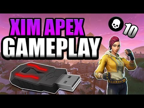 Fortnite Battle Royale 10 Kill Solo Victory (XIM APEX