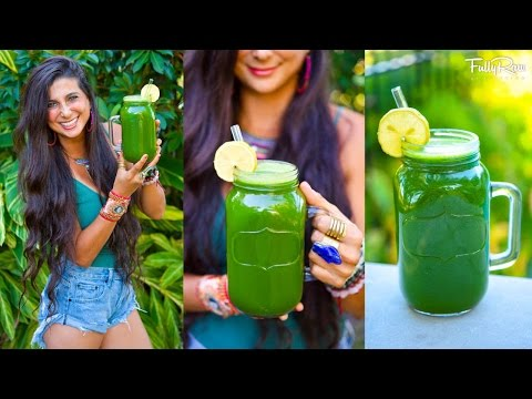 Video BEST Green Juice for Healing & Weight Loss!