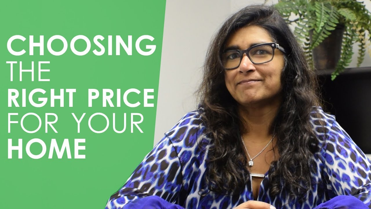 How Do You Choose the Right Price for Your Home When Listing It?