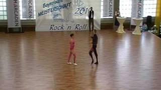 Julia Geishauser & Patrick Pfaller - Landesmeisterschaft Bayern 2010