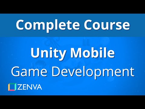 COMPLETE COURSE - Unity MOBILE Game Development - YouTube