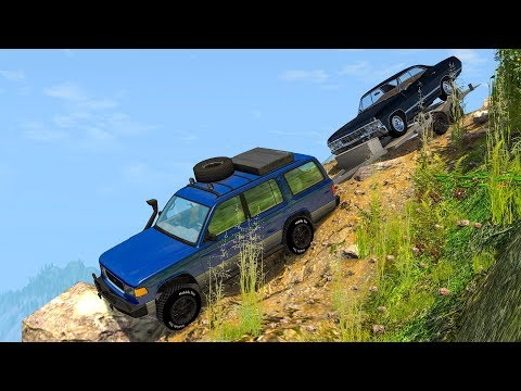 OFFROAD CRASHES & FAILS #6 - BeamNG Drive