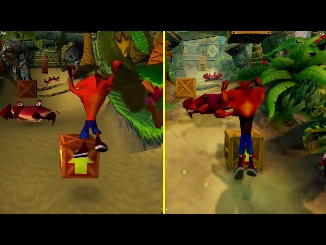 Crash Bandicoot N-Sane Trilogy Gets A Comparison Video Between PS