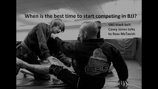 BJJ Mindset - When is the best time to start competing?