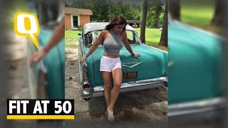 The Quint: Meet the 'Farm Girl' With Rock Hard Abs at Age of 50