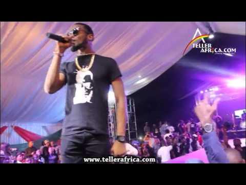 Dbanj Performs 'Suddenly' @ the Timaya I Concur Concert.