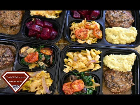MEAL PREP IDEAS   TURKEY MEAT LOAF CABBAGE SPINACH & MUSHROOMS  Cooking With Carolyn