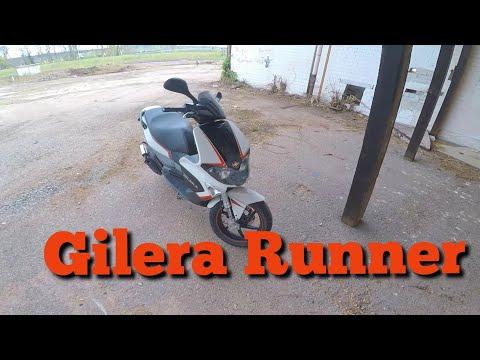 Testfahrt einer Gilera Runner SP 🛵 Roller Vlog