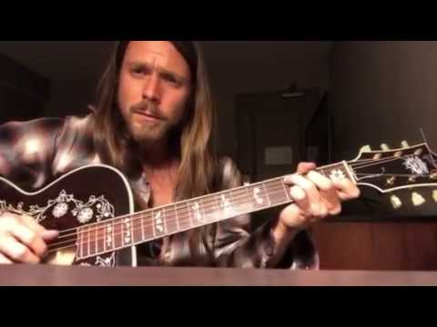 "Lukas Nelson ""My Own Peculiar Way"" by Willie Nelson"