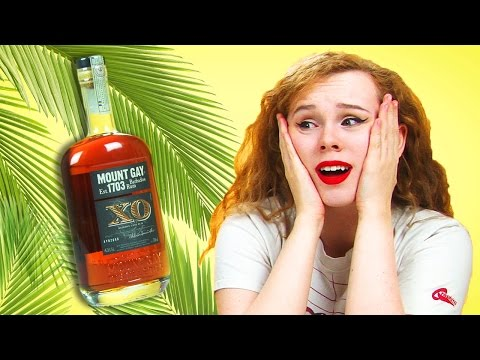 Irish People Taste Test Caribbean Rum