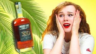 Irish People Taste Test Caribbean Rum