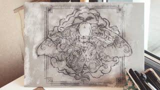 Linocut Printmaking Tutorial: Inkjet Image Transfer By Maarit Hänninen