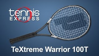 Ρακέτα τέννις Prince Textreme Warrior 100T video