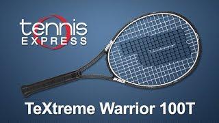 Ρακέτα τέννις Prince Textreme Warrior 100T video