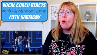 Vocal Coach Reacts To Fifth Harmony Worth It, Independent Woman & We Are Family