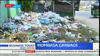 County government of Mombasa put on the spot as garbage piles up