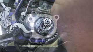 2003 Yamaha WR250F - Oil Change