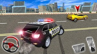 Police Highway Chase in City Crime Racing (by Step Up Games) Android Gameplay [HD]