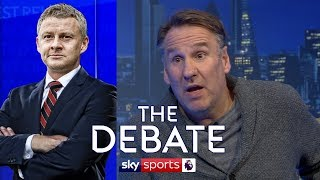 'Ole Gunnar Solskjaer gets the job if Man United beat Liverpool' | Merson & Hayes | The Debate