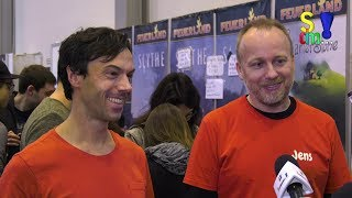 Interview: Terra Mystica / Gaia Project - Autoren im Interview - SPIEL 2017