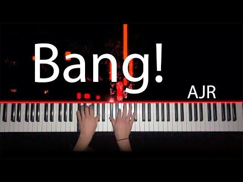 Bang! - AJR Piano Tutorial / Cover