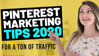 TOP 5 Pinterest Marketing Tips 2020   Guaranteed Pinterest Growth Strategy for Business and Bloggers