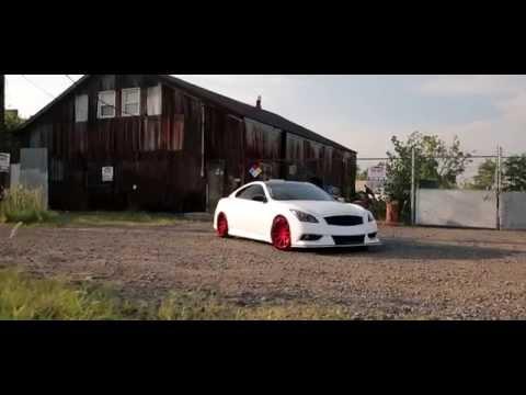 Incurve Forged Wheels / Stillen Supercharged Infiniti G37s IPL