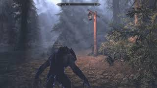 "Skyrim Mods: IA92""s Epic Elemental Werewolf (XBOX1/PS4)"