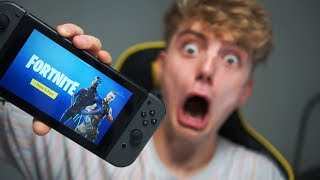 FORTNITE OP DE NINTENDO SWITCH IS TE MAKKELIJK!