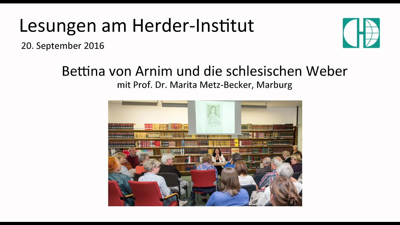 Bettina von Arnim und die schlesischen Weber